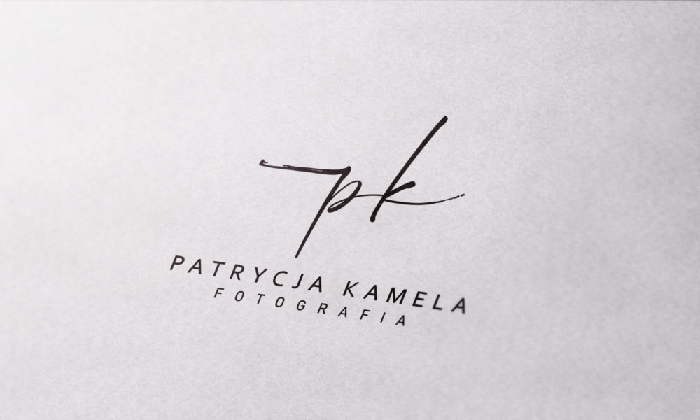 projekt logo dla fotografa