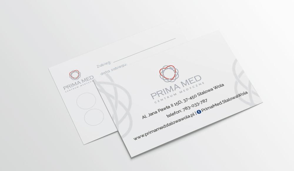 wizytówki karta stałego klienta