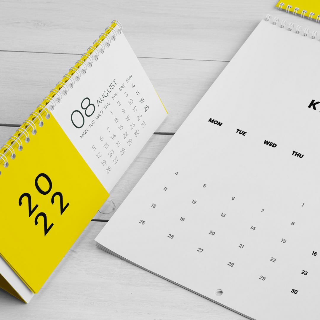Projekt kalendarzy